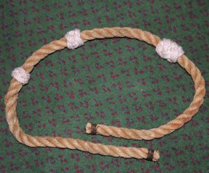 Long Footrope Knot