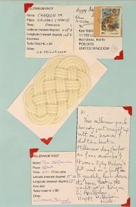 Millennium Knot Postcards (10)