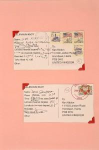Millennium Knot Postcards (18)