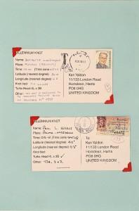 Millennium Knot Postcards (2)