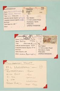 Millennium Knot Postcards (3)