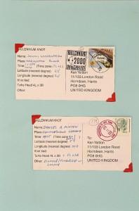 Millennium Knot Postcards (8)