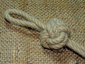 Bosuns Whistle Lanyard Knot