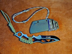 Adjustable Neck Knife Lanyard