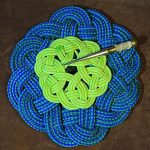 Kringle Mat – How to Make a Kringle Mat with Rope and Paracord