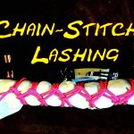 Chain Stitch Lashing – Securing Rolled UP Items – Umbrella Knot