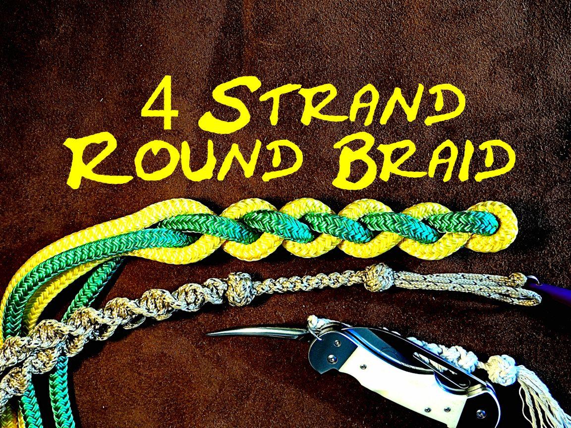 5 Strand Round Braid Bracelet
