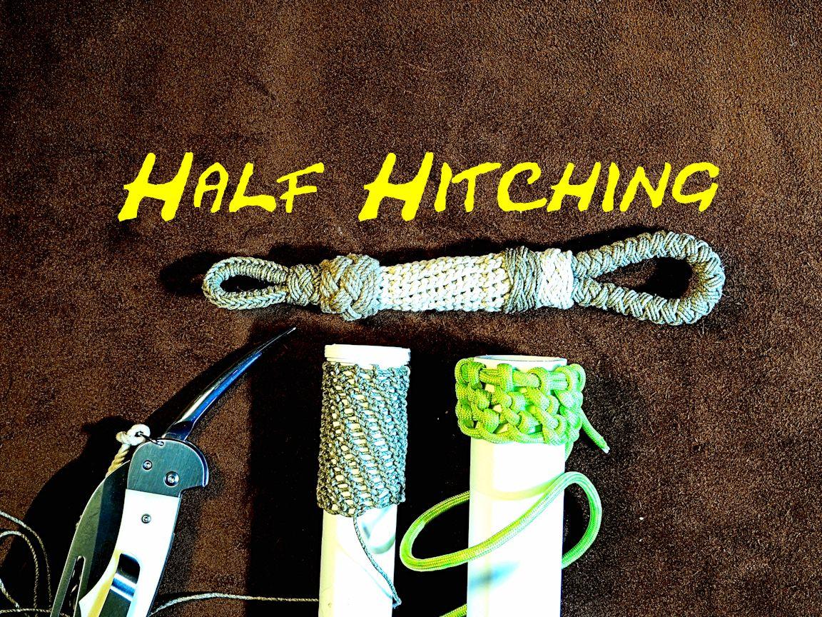 Half Hitching Spiral