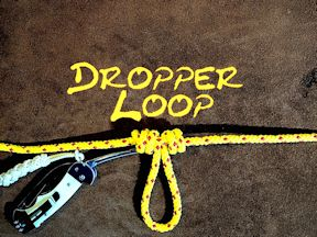 Dropper Loop Fishing Knot
