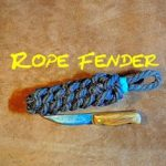 Fender Making a Rope Side Fender
