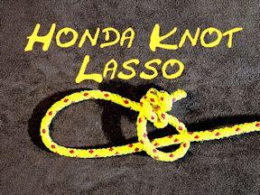 Honda Knot Lasso Knot