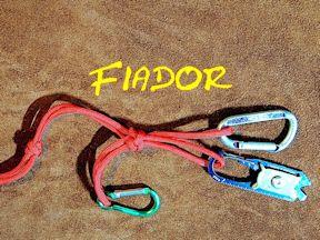 Fiador Knot Key Fob