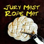 Jury Mast Knot Rope Mat