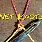 Net Making Knots Close-up