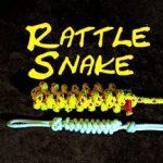 Rattlesnake Knife Lanyard