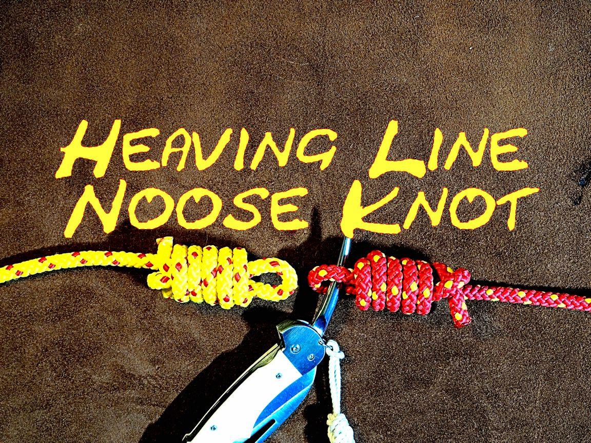 Heaving Line Noose Knot