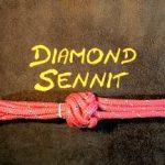 Diamond Sennit Knot with 6 strands