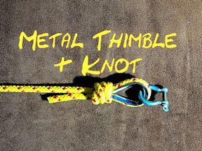Metal Thimble & Poachers Noose