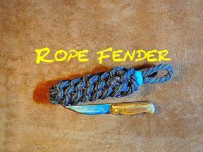 Rope Fender Side Fender